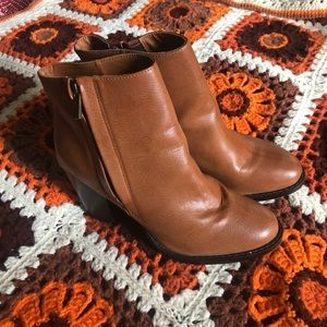 Urban Outfitters Leather Booties